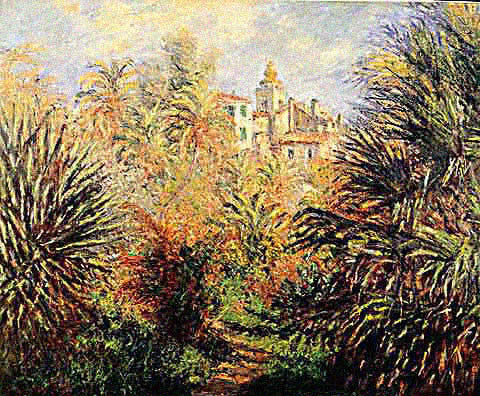 Claude Monet-Gardens at Bordighera
