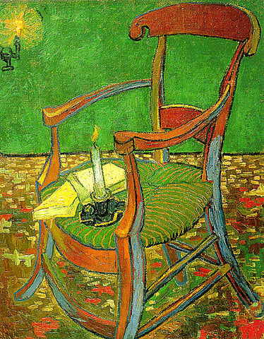 Vincent Van Gogh-Gauguins Chair