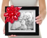 Gift for mom and dad custom sketch-3