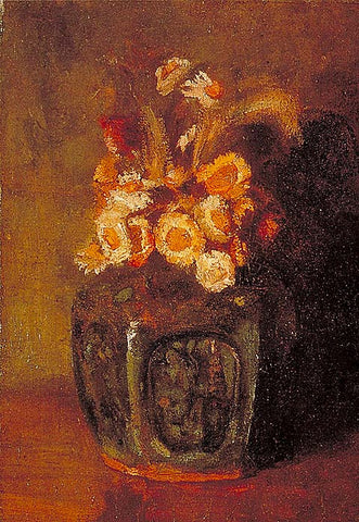Vincent Van Gogh-Ginger Jar 1886