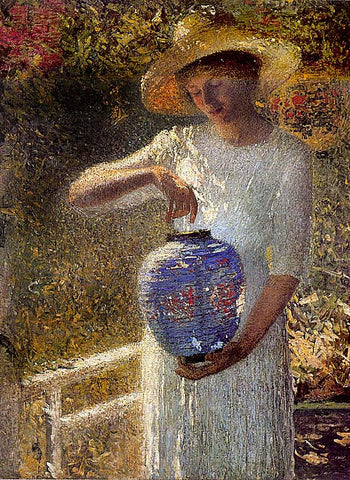 P. Helen Turner-Girl With Lantern