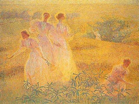 Philip Leslie Hale-Girls In Sunlight