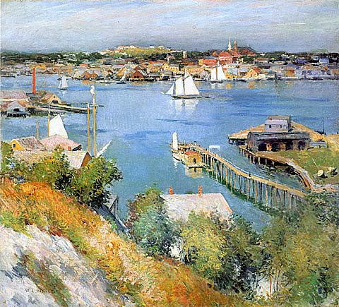 Willard Metcalf-Gloucester Harbor