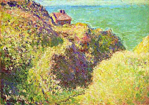 Claude Monet-Gorge at Varengeville Late Afternoon