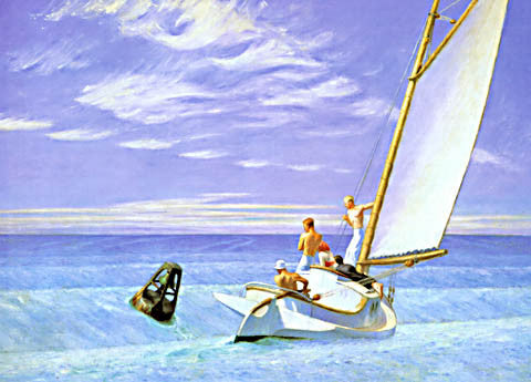 Edward Hopper-Ground Swell 1939