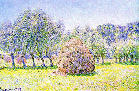 Claude Monet-Haystack in Field