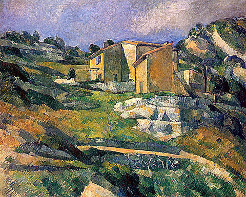 Paul Cezanne-Houses In Province