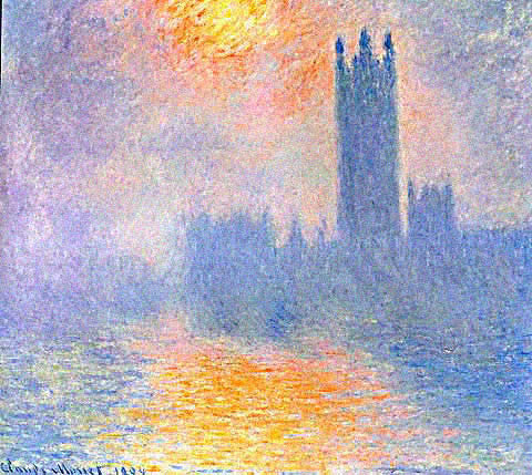 Claude Monet-Houses of Parliament