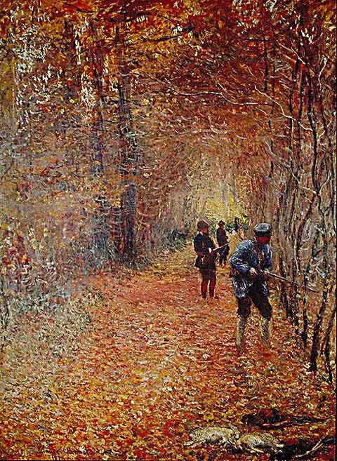 Claude Monet-Hunt 1876