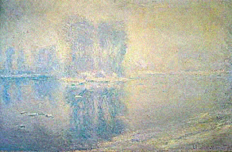 Claude Monet-Ice Floe