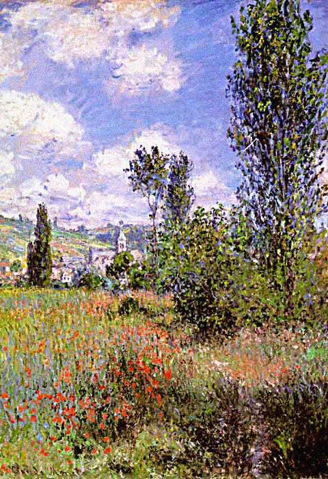 Claude Monet-Ile Saint Martein