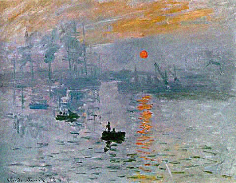 Claude Monet-Impression Sunrising