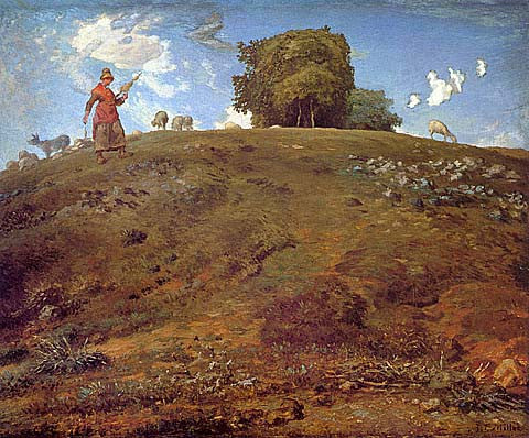 Jean Francois Millet-In The Auvergne