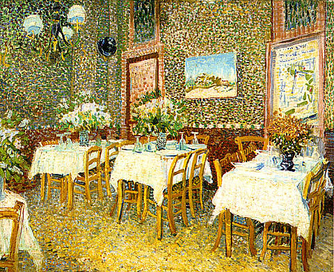 Vincent Van Gogh-Interior Of A Restaurant