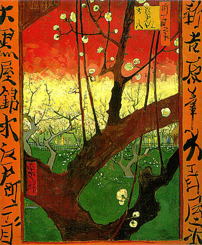 Vincent Van Gogh-Japonaiserie After Hiroshige