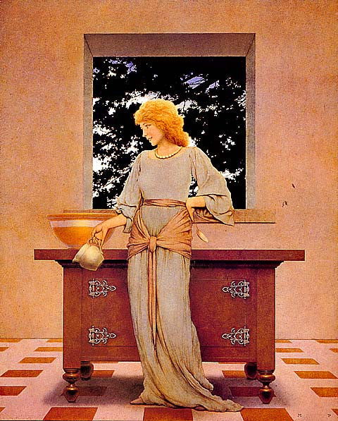 Maxfield Parrish-Knave Of Hearts