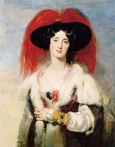 Thomas Lawrence-Lady Peel
