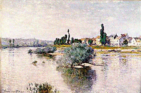 Claude Monet-Lavacourt
