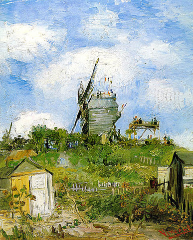 Vincent Van Gogh-Le Moulin