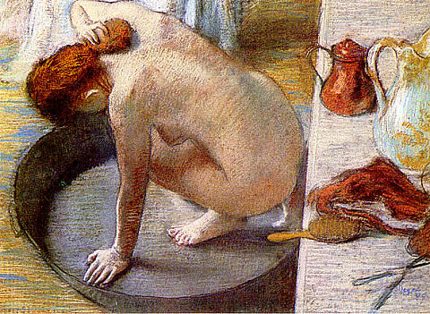 Edgar Degas-Le Tub