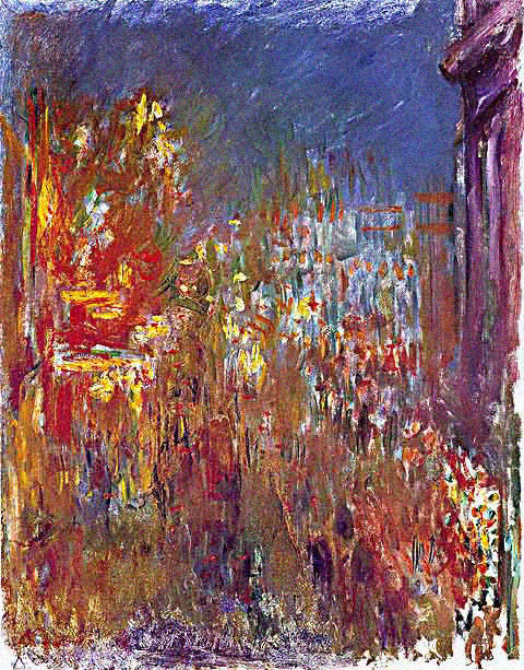 Claude Monet-Leicester Square at Night