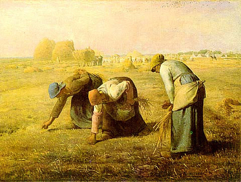 Jean Francois Millet-The Gleaners (Les Glaneuses)