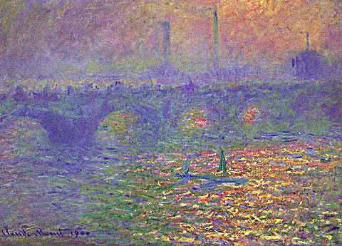 Claude Monet-Londres Waterloo Bridge
