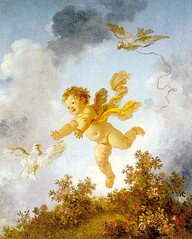 Jean Honore Fragonard-Love The Avenger