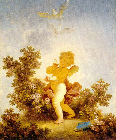 Jean Honore Fragonard-Love The Jester