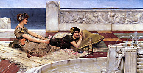 S. L. Alma-Tadema-Loves Votaries 1891
