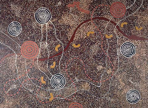 Freddy Purula (Dacou Aboriginal Gallery)-Bush Tucker