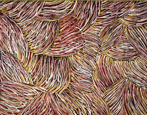 Barbara Weir (Dacou Aboriginal Gallery)-Grass Seed