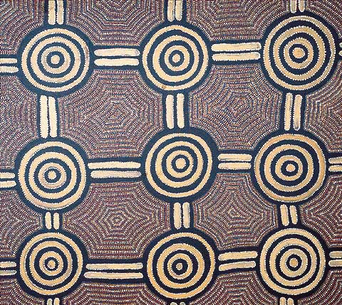 Glory Ngarla (Dacou Aboriginal Gallery)-Bush Potato