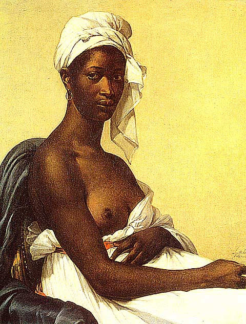 M. G. Benoist-Portrait Of A Negress