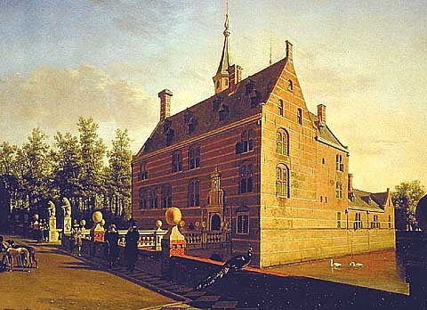 Berckheyde-The Castle Of Heemstede