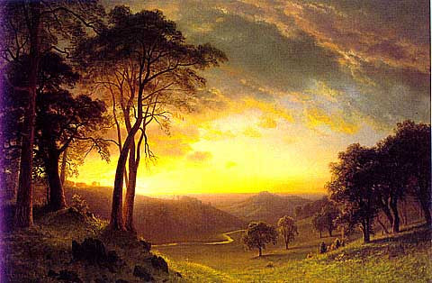 Albert Bierstadt-Sacramento Valley