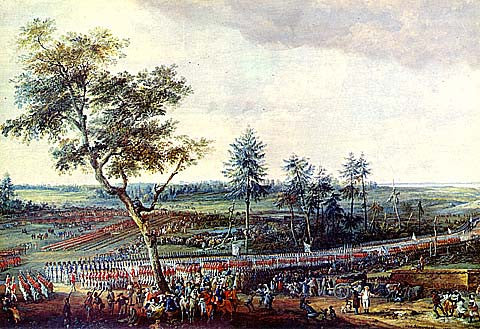 L. N. Van Blarenberghe-The Surrender At Yorktown