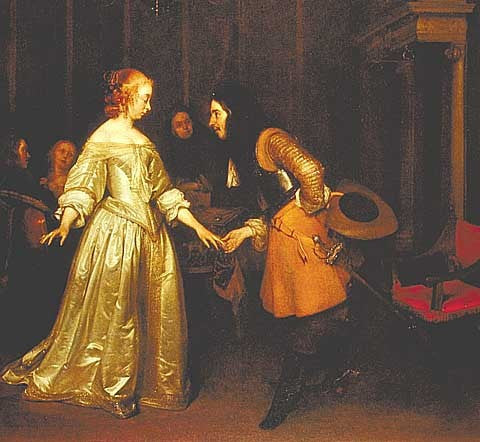 Borch-Dancing Couple