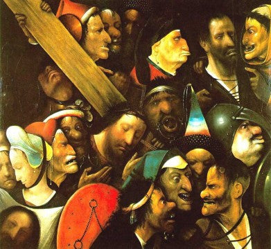 Hieronymous Bosch-Christ Carrying the Cross