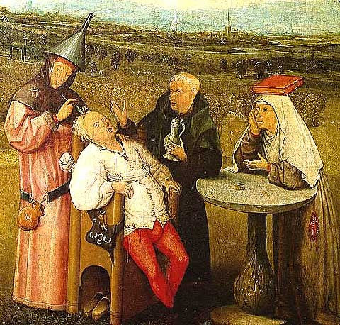 Hieronymous Bosch-The Extraction of the Stone of Madness