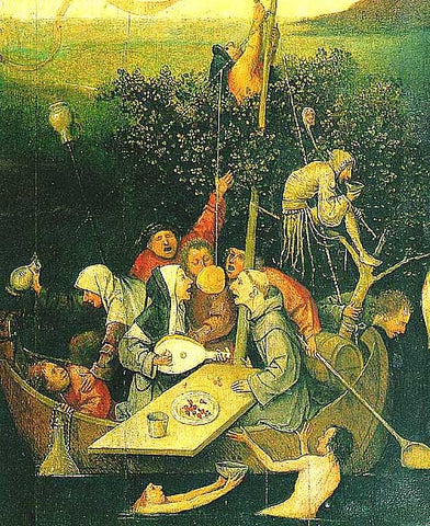 Hieronymous Bosch-The Ship of Fools