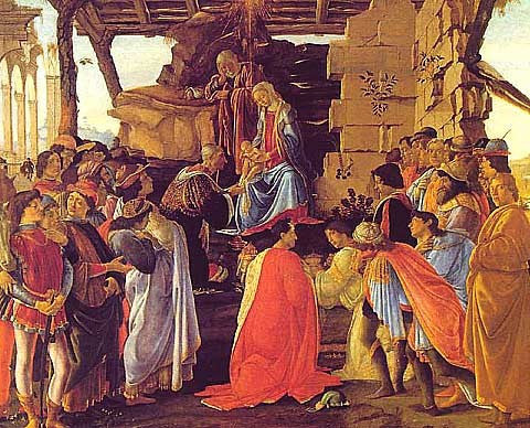 Sandro Botticelli-Adoration of the Magi