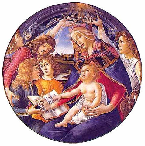 Sandro Botticelli-The Madonna of the Magnificat