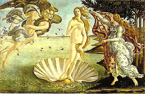 Sandro Botticelli-Birth of Venus