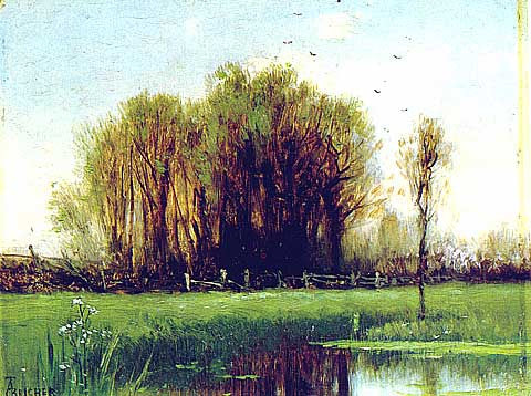 Thomsom Bricher-River Landscape