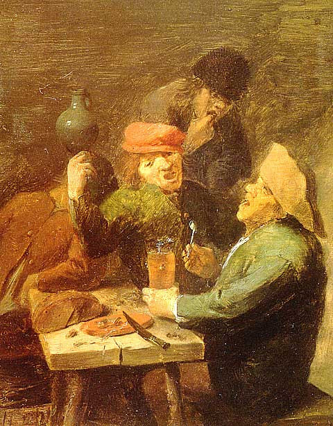 Brouwer-Singing Drinkers