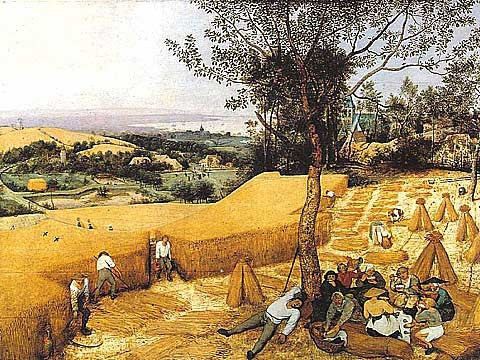 Bruegel-The Harvesters