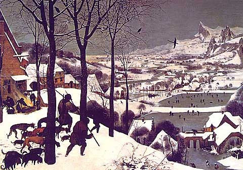 Bruegel-The Hunters in the Snow