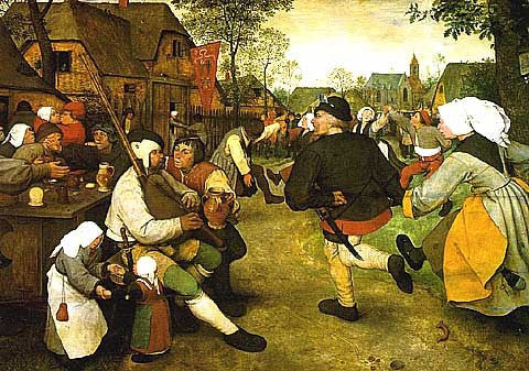 Bruegel-The Peasant Dance