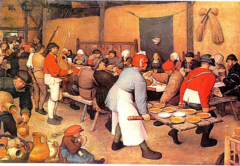 Bruegel-Peasant Wedding